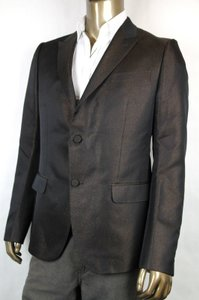 Gucci Brown New Men's Two Button Glittering Jacket It 54 / Us 44 341983 2275 Groomsman Gift