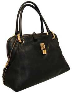 Marc Jacobs Satchel in Black/Brass