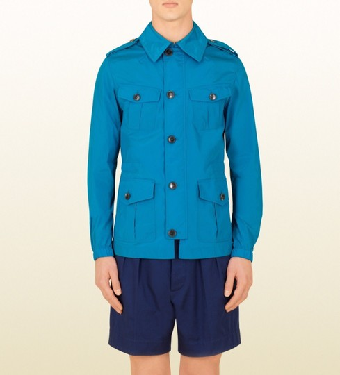 Preload https://img-static.tradesy.com/item/20102059/gucci-turquoise-new-mens-nylon-stretch-windbreak-blouse-it-46-us-36-337454-4610-groomsman-gift-0-0-540-540.jpg