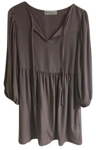 alejandra sky short dress Light plum Tie Front on Tradesy