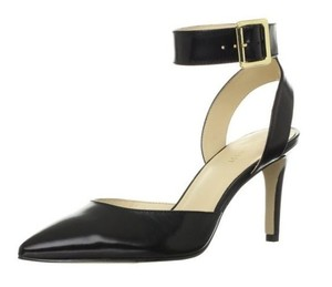 Nine West Callen Ankle Strap Black Pumps