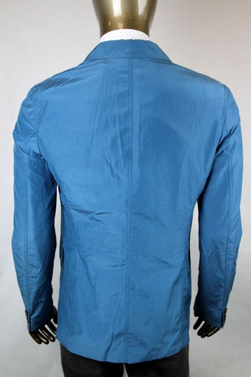 Gucci Teal New Men's Cotton Silk Two Button Light Jacket It 52/ Us 42 304814 4670 Groomsman Gift