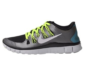 Nike Sneakers Running Black neon Athletic