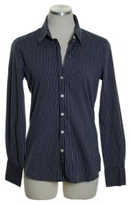 Old Navy Button Down Shirt Black Gray