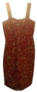 Banana Republic short dress Red & white on Tradesy