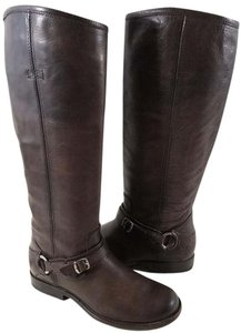 Frye True To Size Brown Vintage Smooth Leather Boots