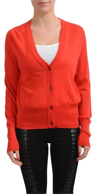 Preload https://img-static.tradesy.com/item/20102409/maison-margiela-red-4-cashmere-knitted-women-s-sweater-cardigan-size-12-l-0-1-650-650.jpg