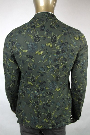 Gucci Green New Mens Two Button Floral Jacket It 50/ Us 40 342320 3661 Groomsman Gift