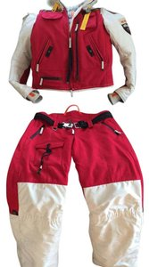 Parajumpers Red, cream, leather Jacket