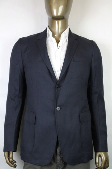Gucci Navy New Men's Wool Mohair Jacket Quilted Lining It 56 / Us 46 337682 4240 Groomsman Gift