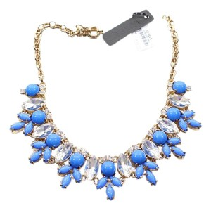 J.Crew J crew nwt $138 blue bib necklace