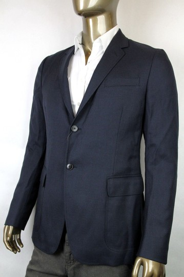 Gucci Navy New Men's Wool Mohair Jacket Quilted Lining It 46 / Us 36 337682 4240 Groomsman Gift