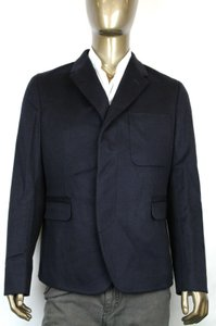 Gucci Navy New Men's Wool Jacket Quilted Lining It 54 / Us 44 333538 4169 Groomsman Gift