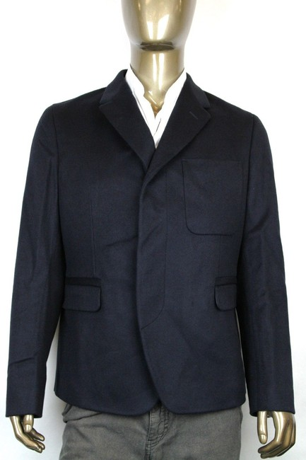 Gucci Navy New Men's Wool Jacket Quilted Lining It 54 / Us 44 333538 4169 Groomsman Gift Gucci Navy New Men's Wool Jacket Quilted Lining It 54 / Us 44 333538 4169 Groomsman Gift Image 1