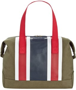 Tommy Hilfiger Olive Green Travel Bag