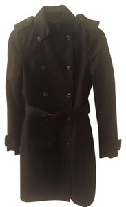 Zara Trench Belted Rain Winter Trench Coat