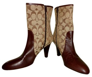 Coach Cocoa Brown Boots