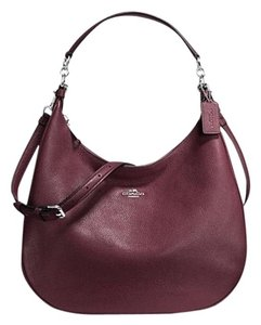 Coach Leather Crossbody Large Hobo Bag