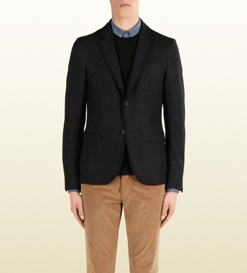 Preload https://img-static.tradesy.com/item/20102785/gucci-black-new-men-s-wool-stretch-flannel-crest-jacket-it-56-us-46-347325-1165-groomsman-gift-0-0-540-540.jpg