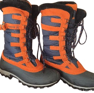 Kamik Blue and orange Boots