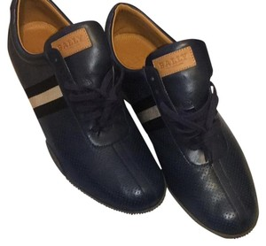Bally Navy blue & brown Athletic