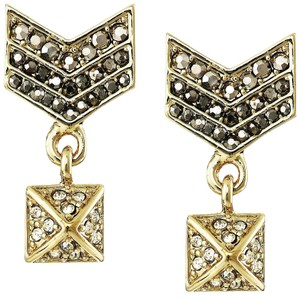 Rebecca Minkoff NEW Rebecca Minkoff Crystal Chevron Drop Earrings