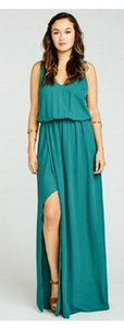 Show Me Your Mumu Hutch Crisp Green Chiffon Kendall Destination Bridesmaid/Mob Dress Size 0 (XS)