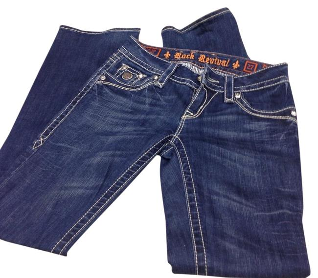 Preload https://img-static.tradesy.com/item/20102877/rock-revival-blue-straight-leg-jeans-size-27-4-s-0-1-650-650.jpg