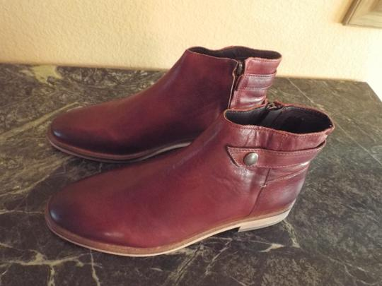 H by Hudson Ankle Leather Lochrin Chestnut Boots