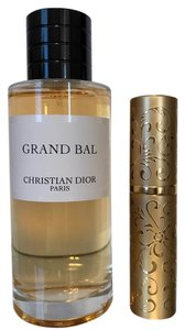 Dior Dior Privee Collection Grand Bal 10ML in Gold Refillable Purse Spray