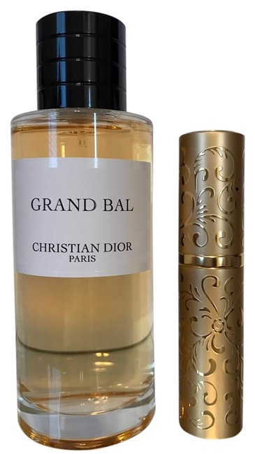 Dior Privee Collection Grand Bal 10ml Filled In Gold Purse Spray Fragrance Dior Privee Collection Grand Bal 10ml Filled In Gold Purse Spray Fragrance Image 1