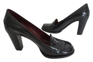 Prada Penny Loafers Classic Designer Black Pumps