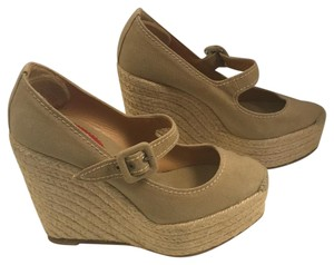 Christian Louboutin Natural/khaki Wedges