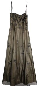Blondie Nites Formal Long Embroidered Brand New Sleeveless Dress