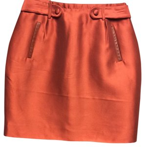 Raoul Skirt Rust
