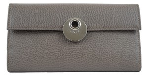 Gucci Gucci 231835 GG Leather Wallet Clutch Grey
