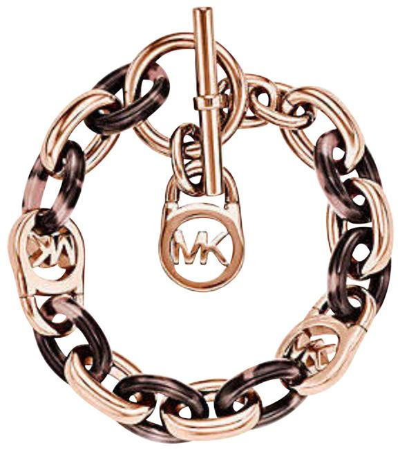 Item - Rose Gold Heritage Tortiose Toggle Bracelet