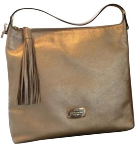 MICHAEL Michael Kors Hobo Bedford Pebble Leather Shoulder Bag