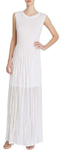 white Natural Maxi Dress by Carnival Rifle