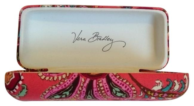 Item - Pink Paisley Glasses Case Large Clamshell Sunglasses