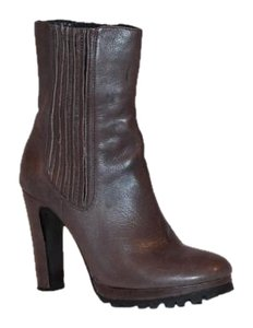 Dolce Vita Leather Winter Casual Brown Boots