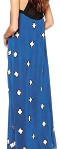 Blue combo Maxi Dress by BCBGMAXAZRIA
