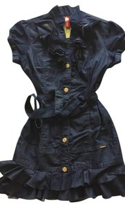 Phatfarm short dress Denim on Tradesy