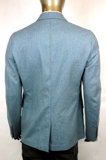 Gucci Light Blue New Men's Wool Cashmere Jacket It 58 / Us 48 358078 4568 Groomsman Gift