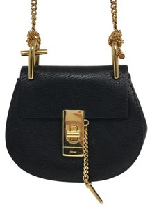 Chloé Chloe Chloe Chloe Gold Hardware Cross Body Bag