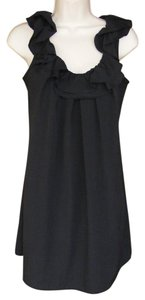 Pins and Needles short dress Black Ruffle Anthropologie on Tradesy