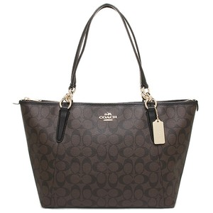 Coach Tb Mk Lv Gucci Signature Tote in Brown/Black