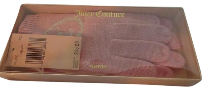 Juicy Couture Pink Gloves One Size Fits All Juicy Couture Pink Gloves One Size Fits All Image 1