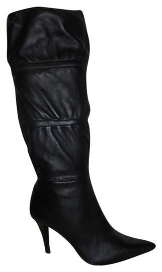 Preload https://img-static.tradesy.com/item/2010392/bandolino-black-leather-knee-high-bootsbooties-size-us-6-regular-m-b-0-0-540-540.jpg