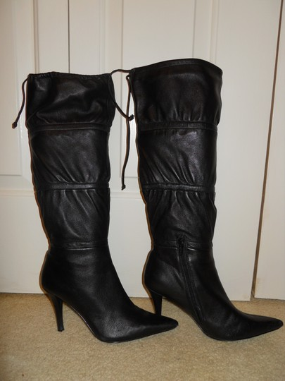 Bandolino Leather black Boots Image 1